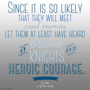 CSLewis Brave Knights