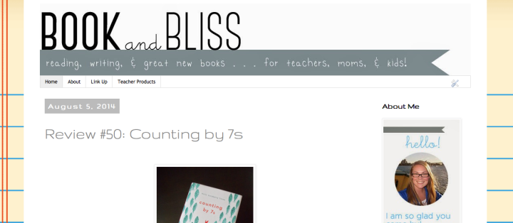 Book and Bliss Blog